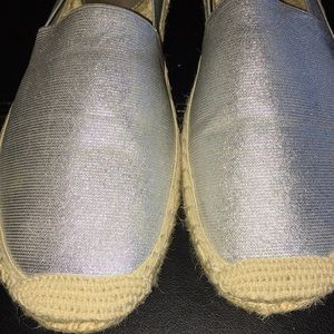 Ellen Tracy Shoes - Ellen Tracy Paris Metallic Espadrille Flats